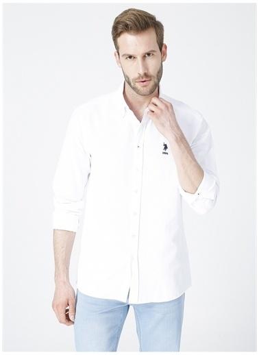 U.S. Polo Assn. U.S. Polo Assn. Gömlek Beyaz